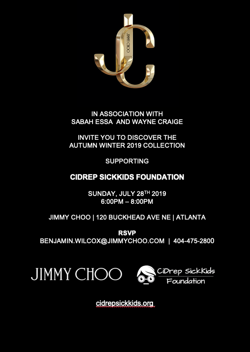 2019 JimmyChoo Fundraising Shopping Experience